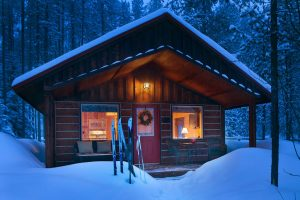 CabinInWinter